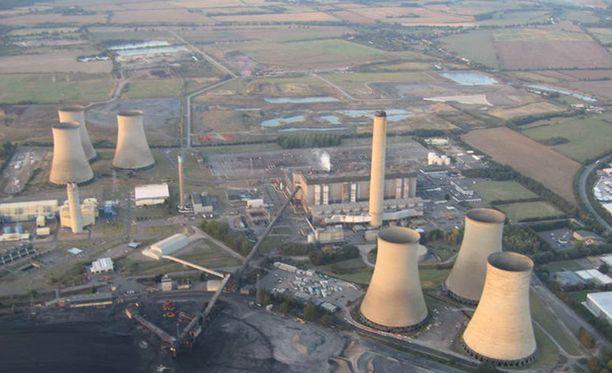 Didcotin voimala sijaitsee Kaakkois-Englannissa.
