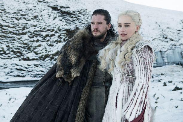 Jon Snow eli Nietos onkin sukua rakastetulleen Daenerys Targaryenille.