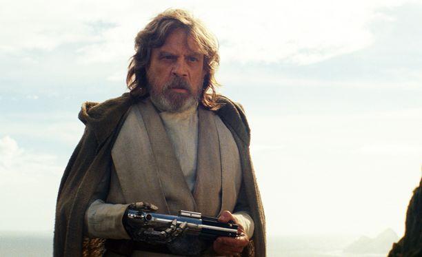 Mark Hamillin esittämä Luke Skywalker pohtii universumin arvoituksia.