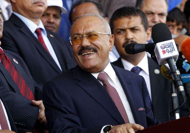Jemenin entinen presidentti Ali Abdullah Saleh oli kuollessaan 75-vuotias.