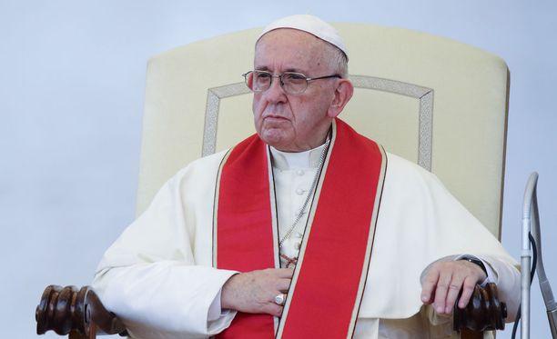 Argentiinasta kotoisin oleva paavi Franciscus on ollut virassaan vuodesta 2013.