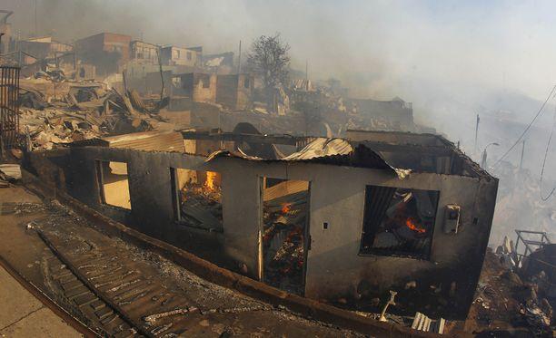 Tulimeri tuhosi 150 kotia.