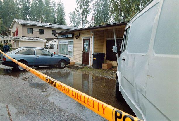 Veli-Matti Huohvanainen ampui kaksi miestä pienyhtiön rakennuksessa Vantaan Rajakylässä syksyllä 1999.
