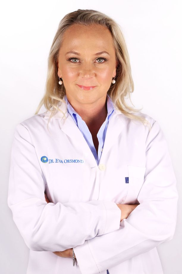 Laihdutusohjelmassa Operation Transformation Eva Orsmond tunnettiin nimellä Dr. Eva.