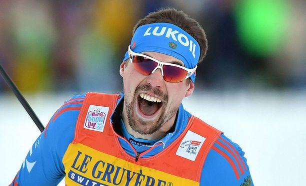 Sergei Ustjugov kävi kuumana tiistaina Oberstdorfissa.
