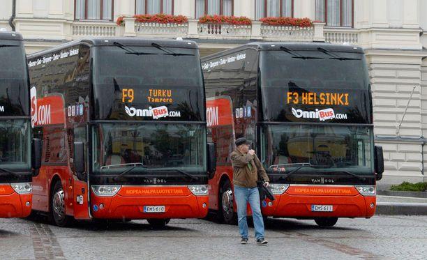 Onnibus on löytänyt kuljettajat monille vuoroille mielenilmauksesta huolimatta.