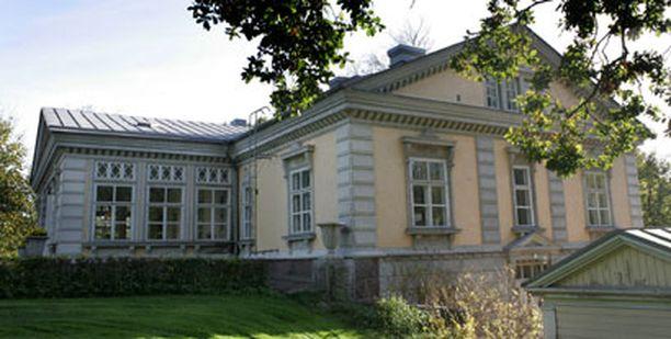 Espoonkartano on rakennettu 1700-luvun lopulla.