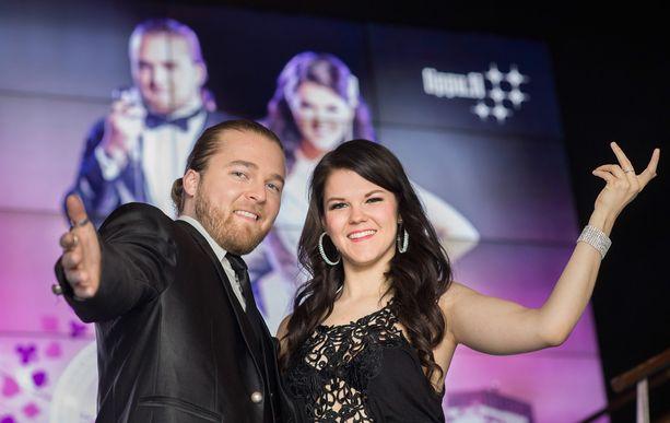 Teemu Roivainen ja Saara Aalto seurustelivat 2000-luvun alkupuolella.