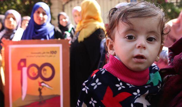 Palestiinalaisalueilla lapset saavat nimensä välillä kuuluisuuksien mukaan. Välillä nimivalinta on huono lapsen kannalta.