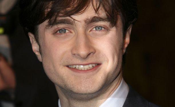 Daniel Radcliffe esittää elokuvasaagassa Harry Potteria.