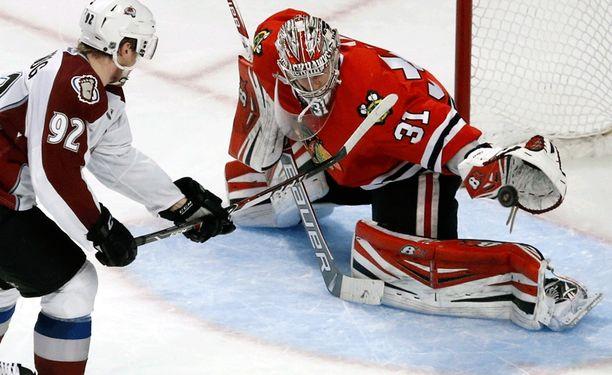 Antti Raanta, 24, on osoittanut kuuluvansa NHL-tasolle.
