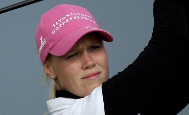 Minea Blomqvist ei päässyt jatkokierroksille.