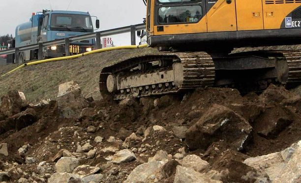 Kaivaustyöt paljastivat luulöydön. Kuva ei liity tapaukseen.