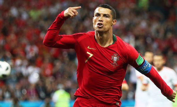 Cristiano Ronaldo on ollut maailman parhaita jalkapalloilijoita jo reilun 10 vuoden ajan.