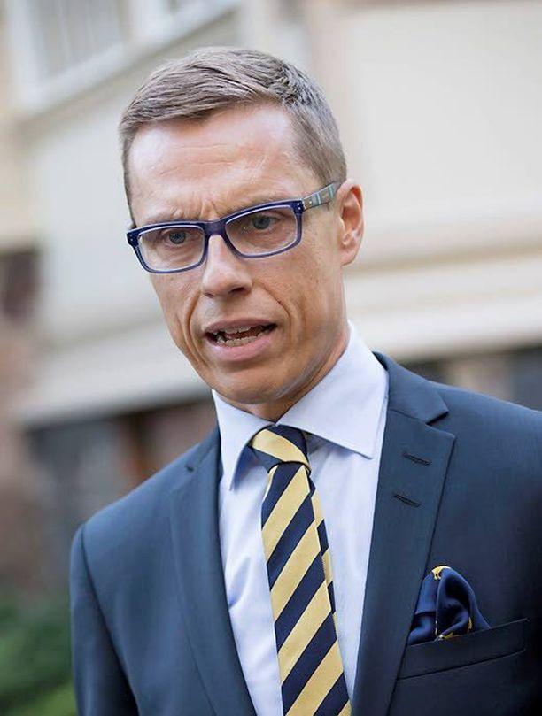 Pääministeri-puheenjohtaja Alexander Stubb joutui kovaan paikkaan.