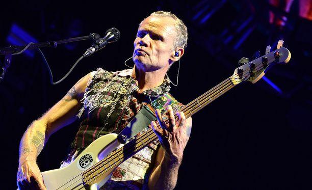 Red Hot Chili Peppers esiintyy tänään Helsingissä.