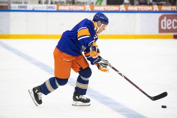 Tuukka Mäntylä sai Kärpät-ottelussa pelirangaistuksen.
