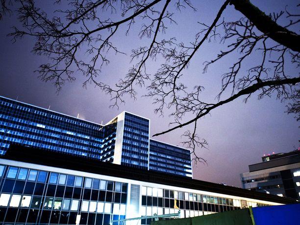 Helsingin ja Uudenmaan sairaanhoitopiiriin kuuluvan Meilahden sairaalan aluetta.