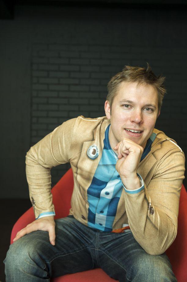 Juha Perälä vuonna 2013.