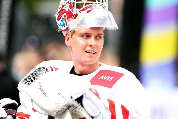 Kevin Lankinen siirtyi viime kauden jälkeen HIFK:sta Chicago Blackhawksin organisaatioon.