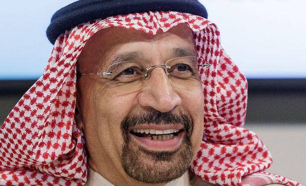 Saudi-Arabian energiaministeri Khalid Al-Falih on ilmoittanut maan lopettavan öljykuljetukset Punaisenmeren kautta kokonaan.