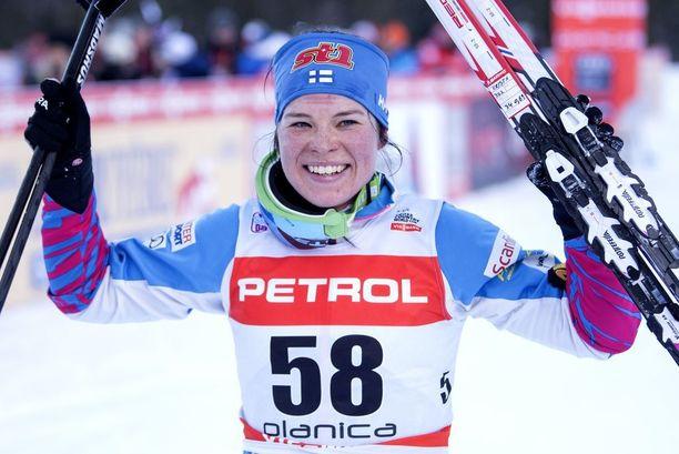 Krista Pärmäkoski on tehnyt Matti Haaviston kanssa menestyksekkäästi yhteistyötä.