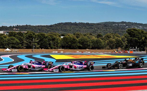 Paul Ricardin radalla ei tänä kesänä ajeta formula ykkösiä.