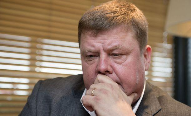 Pekka Perä toimi Talvivaaran toimitusjohtajana. Kuva vuodelta 2013.