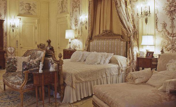 "Mar-a-Lagon ""isännän"" makuuhuone."