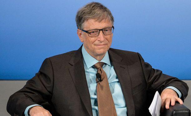 Bill Gates puhui turvallisuuskokouksessa Münchenissa lauantaina.