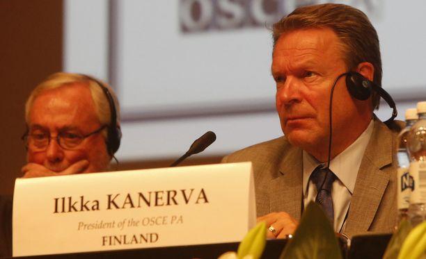 Ilkka Kanerva jatkaa Etyjin yleiskokouksen puheenjohtajana yksimielisellä päätöksellä.