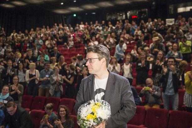 Ville Niinistö jättää tehtävänsä vihreiden puheenjohtajana Tampereen puoluekokouksessa kesäkuussa. Kuva vuoden 2015 puoluekokouksesta, joka pidettiin Oulussa.