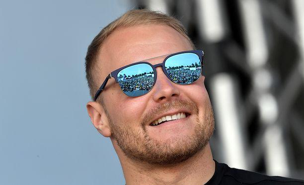 Valtteri Bottas oli huippuiskussa kauden avauskisassa.