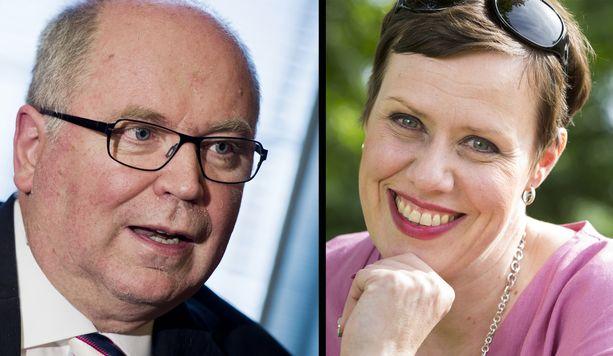 Eero Heinäluoma ja Maarit Feldt-Ranta olivat ystäviä myös politiikan ulkopuolella.