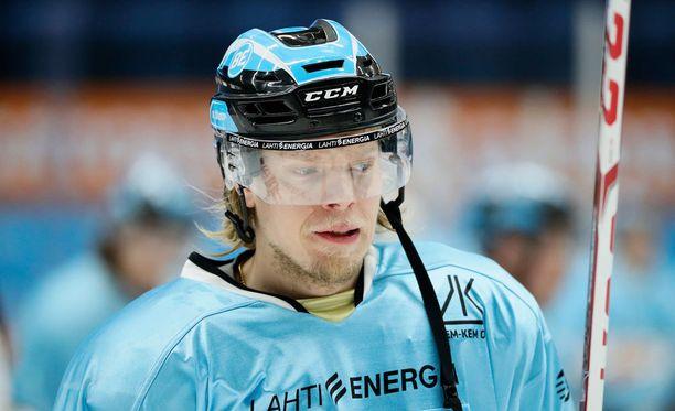 Vili Sopanen teki kolme maalia, joista yksi jäi ottelun voittomaaliksi.