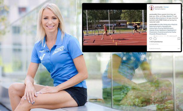 Annimari Korte kisasi myös Berliinin EM-kisoissa.