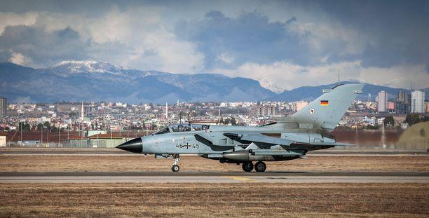 Saksalaiset koneet ovat olleet osa Yhdysvaltojen johtaman liittouman Isisin vastaista taistelua Syyriassa ja Irakissa.