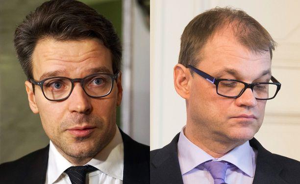 """Viile Niinistön (vihr) mielestä Fennovoima-vatvominen osoittaa että Suomessa eletään """"vakavaa poliittisen johtajuuden kriisiä""""."""