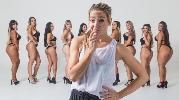 Moni kauneusleikkauksissa käyvä haaveilee tiimalasivartalosta: isoista rinnoista, kapeasta vyötäröstä ja isosta takamuksesta.