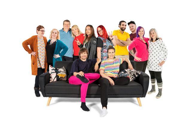 Sohvaperunat nähdään jälleen syksyllä TV2:lla.