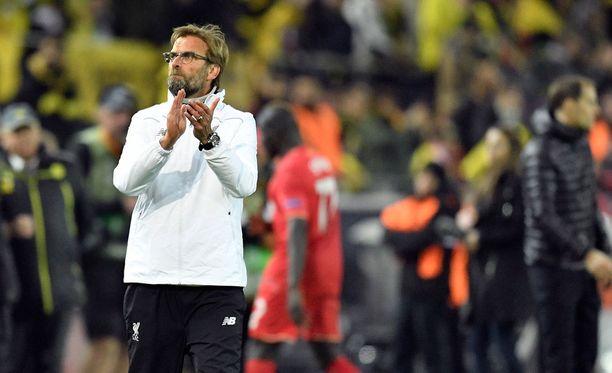 Jürgen Kloppin Liverpool pelasi tasapelin Dortmundissa.