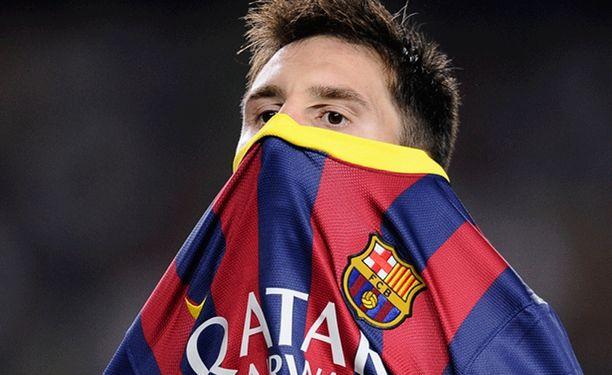 Lionel Messin reisi petti taas.
