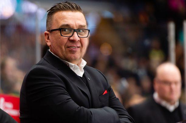 Ari-Pekka Selin sai aikaisen suihkukomennuksen Lukkoa vastaan. Arkistokuva.