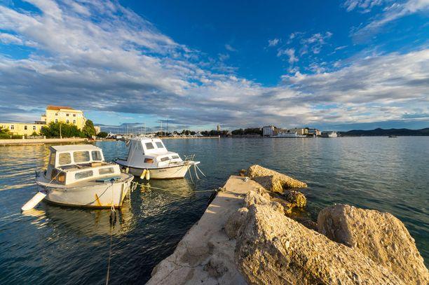 Zadar on tunnettuja kaupunkeja rauhallisempi lomakohde.