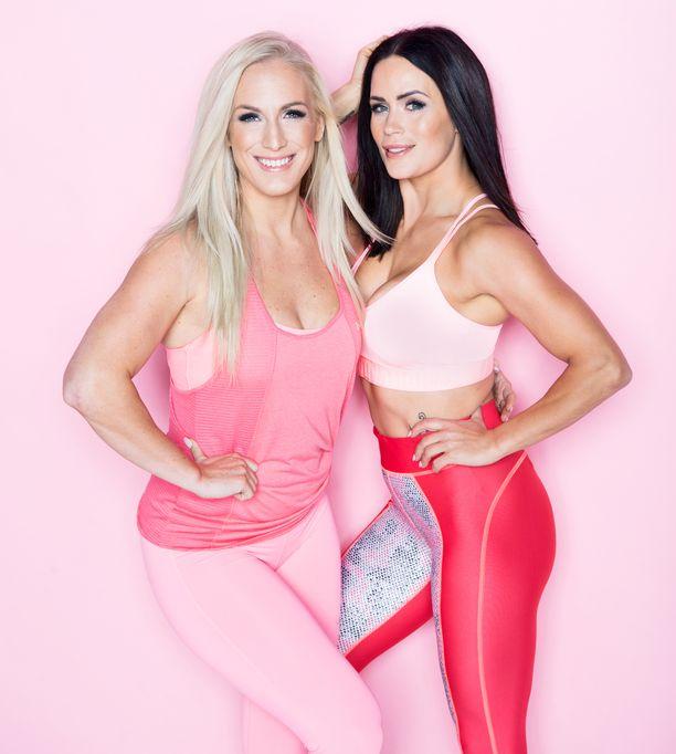 Nanna Karalahti ja Martina Aitolehti ovat tunnettuja liikunta-alan yrittäjiä.