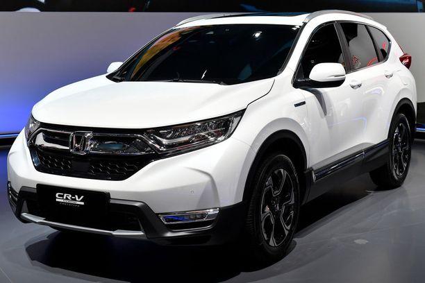 Uusi Honda CR-V ennättää Suomeen ensi vuoden lopulla.