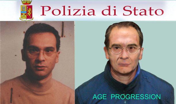 Vuonna 2011 Italian poliisi julkaisi vanhan kuvan oikeasta Matteo Messina Denarosta ja hahmotelman siitä, miltä hän olisi voinut näyttää ikäännyttyään.