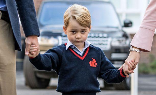 Prinssi George aloitti tänä syksynä koulun.