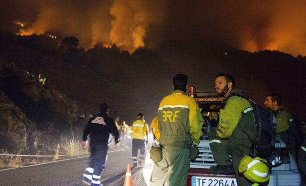 Yksi palomiehistä sai surmansa torstaina.