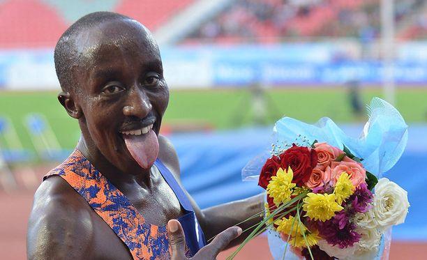Edward Zakayo Pingua voitti kesäkuussa 5000 metrillä Timanttiliigan alle 20-vuotiaiden kisan Marokon Rabatissa.